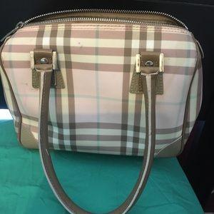 Burberry London Pink Candy Nova Check Small Bag